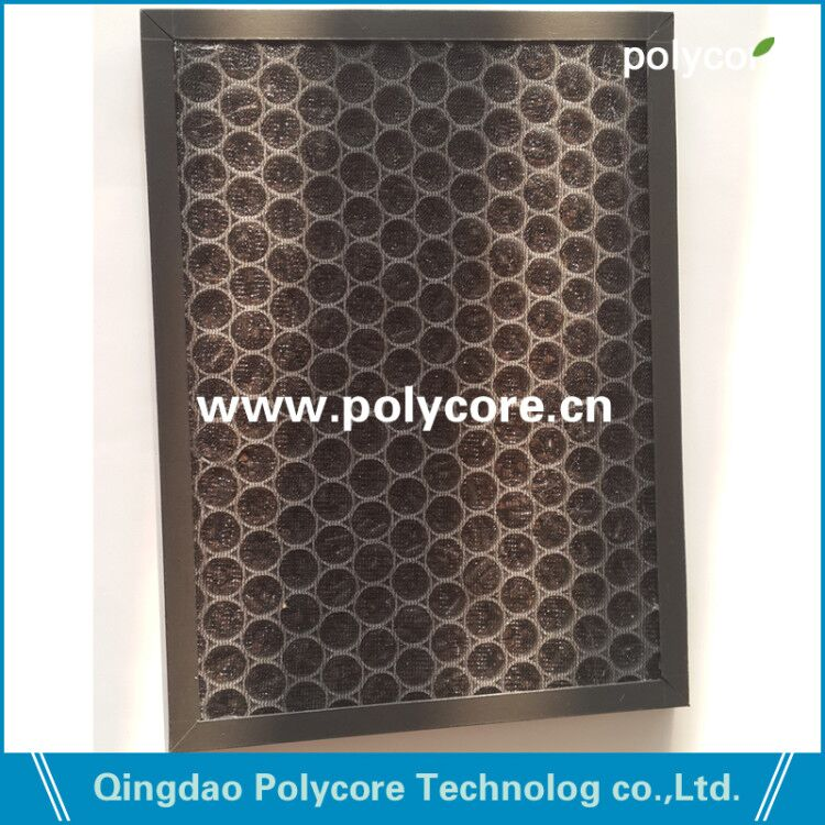 Polycore PP honeycomb core in air purifier-3
